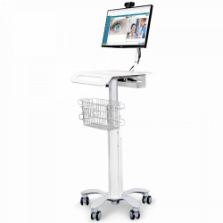 CHARIOT MEDICAL COMPTACT LCD HAUTEUR VARIABLE MAIN