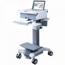 CHARIOT MEDICAL LAPTOP15 HAUTEUR VARIABLE