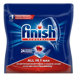 FINISH PASTILLES POWERBALL - 24 LAVAGES