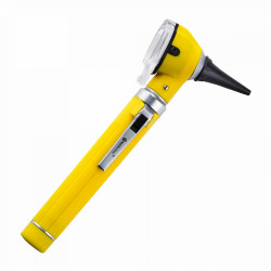 OTOSCOPE FO LED COULEUR MÉDICLINIC - JAUNE