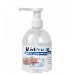 LOTION LAVANTE NEUTRE MEDI'MAINS 500ML