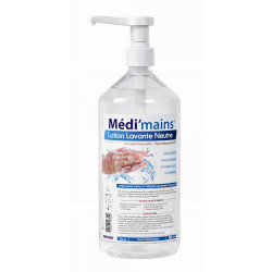LOTION LAVANTE NEUTRE MEDI'MAINS 1L