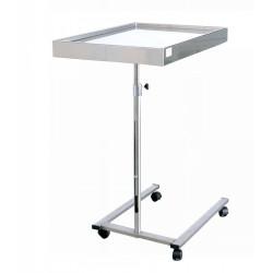 TABLE DE MAYO INOX