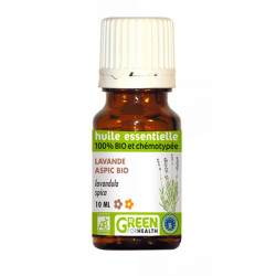 HUILE ESSENTIELLE LAVANDE ASPIC GREEN FOR HEALTH