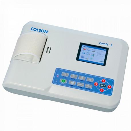 ECG 3 PISTES CARDI-3 COLSON