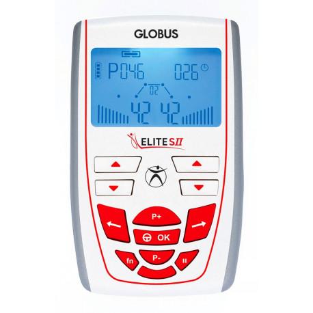 PACK ELECTROSTIMULATEUR GLOBUS ELITE S2 ® + 20 ÉLECTRODES OFFERTES