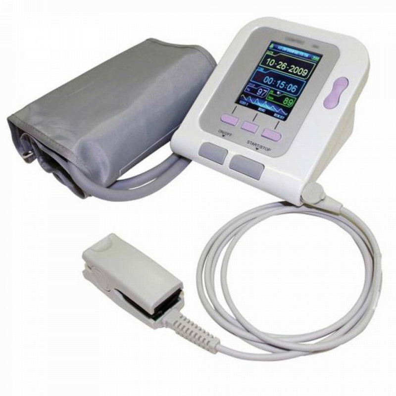 Oxymètre de pouls avec mesure de la tension artérielle..