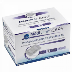 MEDI'CLINIC CARE PANSEMENT EXTENSIBLE NON-TISSÉ STÉRILE