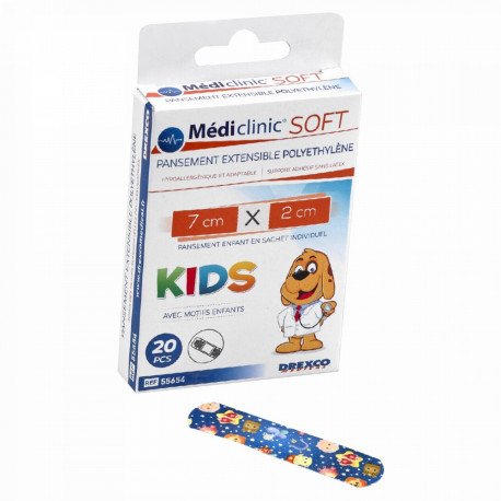 PANSEMENT MEDICLINIC SOFT KIDS