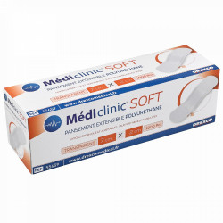 PANSEMENT TRANSPARENT MEDICLINIC SOFT