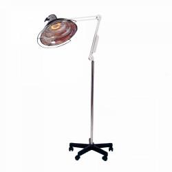 LAMPE INFRAROUGE QUARTZ 400W PIED ROULANT VERRE ET QUARTZ