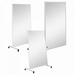 MIROIR FIXE TRANSPORTABLE SANS QUADRILLAGE