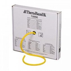 TUBING THERABAND EN ROULEAU 4 FORCES/COULEURS