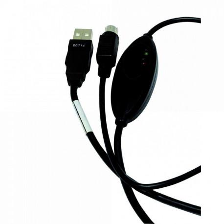 CÂBLE DE LIAISON PC USB POUR OSCAR 2 SPENGLER