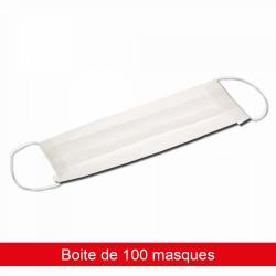MASQUE VISITEUR NON TISSÉ - BOITE DE 100