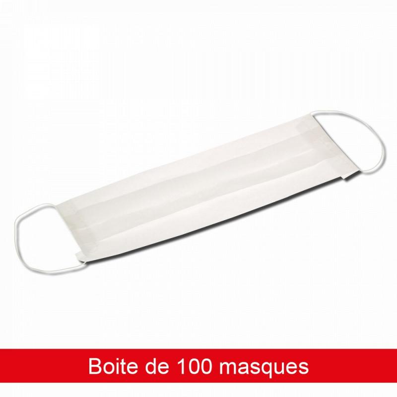 masque chirurgical boite de 100