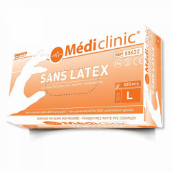 GANTS PVC «SANS LATEX» MÉDICLINIC
