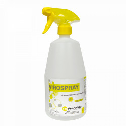 VIROSPRAY DÉTERGENT DÉSINFECTANT VIRUCIDE - 3X1L AVEC SPRAY