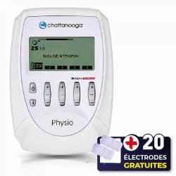 PACK ELECTROSTIMULATEUR COMPEX PRO - PHYSIO + 20 ÉLECTRODES OFFERTES