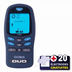 PACK GLOBUS DUO PRO + 20 ÉLECTRODES OFFERTES