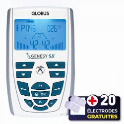 PACK ELECTROSTIMULATEUR GENESY S II + 20 ÉLECTRODES OFFERTES