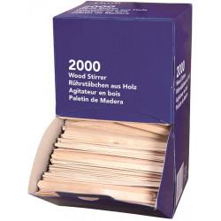 AGITATEURS EN BOIS - BOITE DISTRIBUTRICE DE 2000