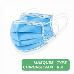 MASQUES CHIRURGICAUX TYPE II R - BOITE DE 50