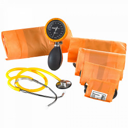 KIT TENSIOMETRE D'URGENCE MULTIBRASSARDS