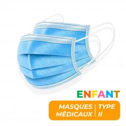 MASQUE MEDICAL TYPE II ENFANT - BOITE DE 50