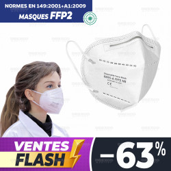 MASQUE DE PROTECTION RESPIRATOIRE FFP2