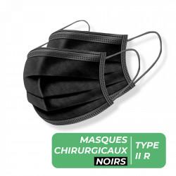 MASQUES CHIRURGICAUX TYPE II R NOIR