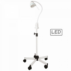 LAMPE LED HEPTA 7 W + PIED ROULANT LID