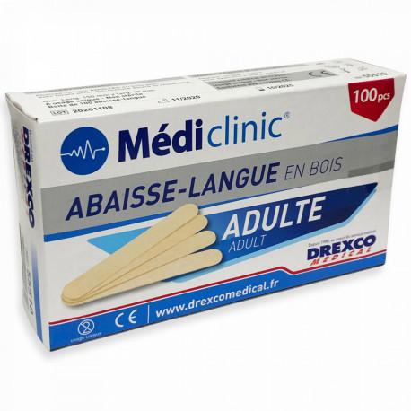 ABAISSE-LANGUE ADULTE MÉDICLINIC®