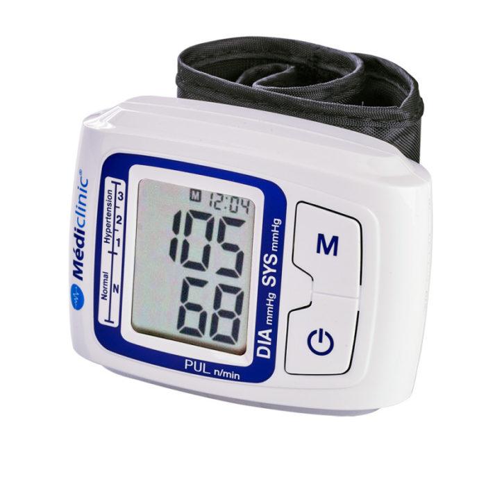 tensiometre automatique poignet mediclinic