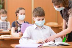 Des masques de protection  respiratoires pour enfants