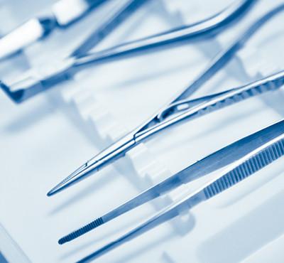 Pinces de gynécologie à usage unique