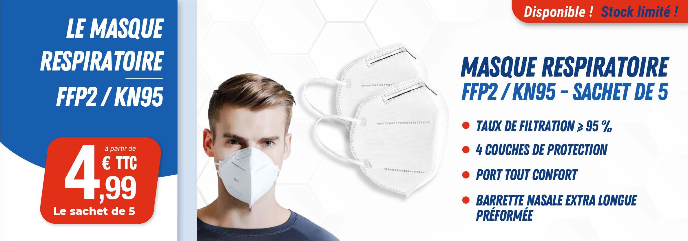 Masques FFP2/KN95
