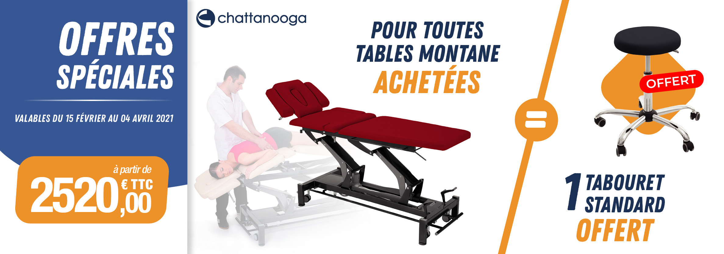 Offres spéciales Chattanooga - Tables Montane