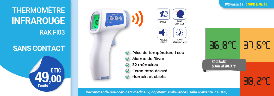 THERMOMÈTRE INFRAROUGE SANS CONTACT