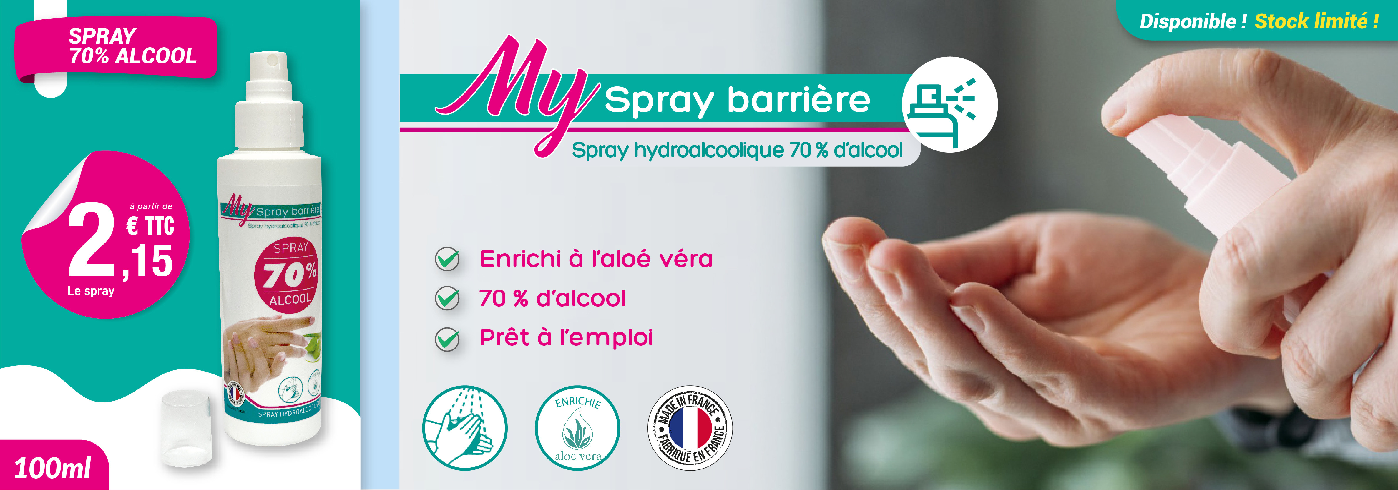 MY SPRAY BARRIÈRE - 100 ML